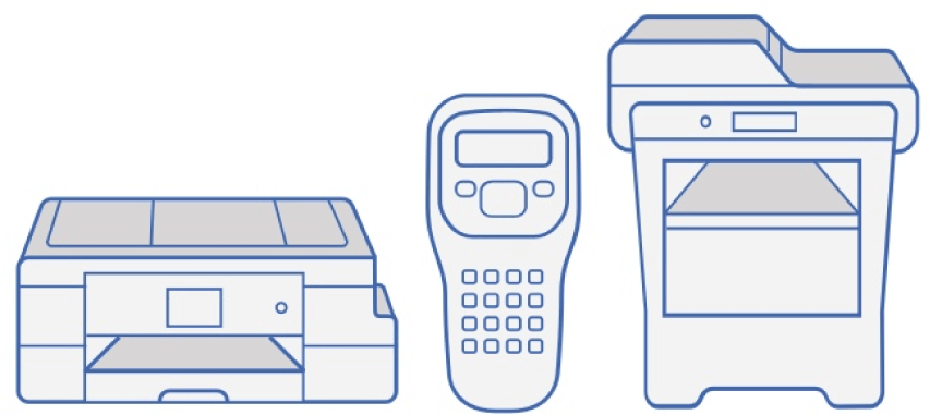 Brother products icons